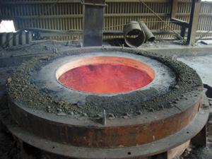 石灰焼き釜